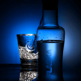 Flaska hem